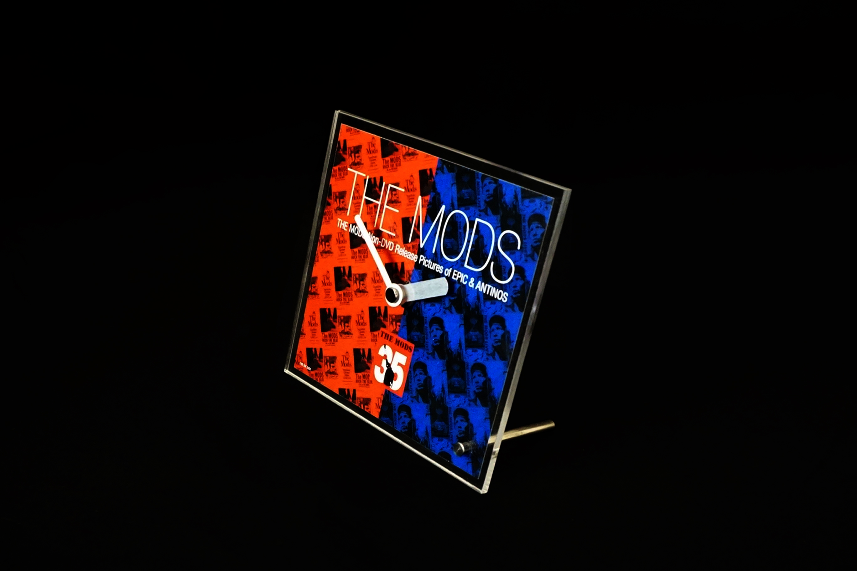 まとめ買い特典 THE MODS 35th anniversary Original Desk Clock