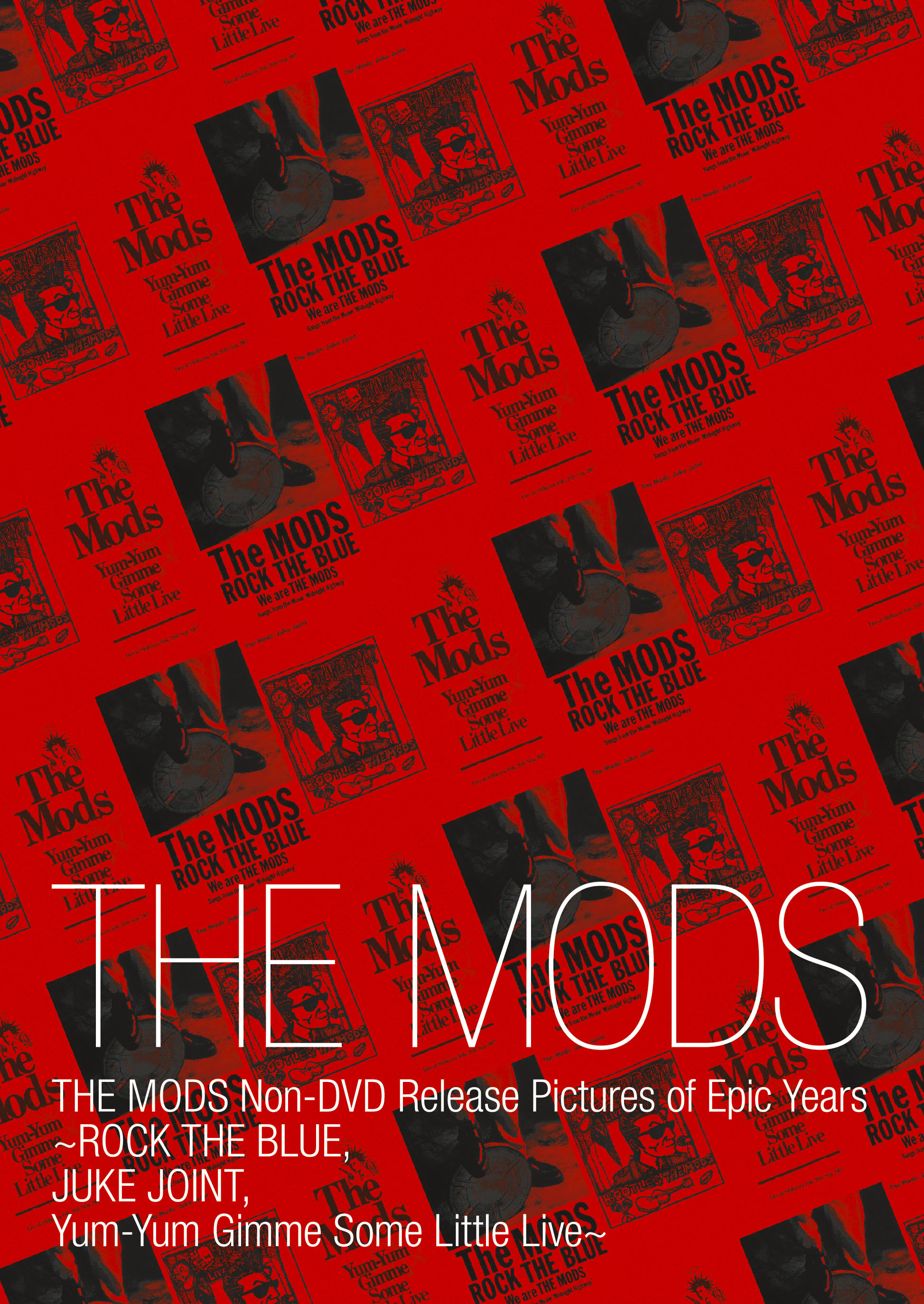 THE MODS Non-DVD Release Pictures of Epic Years